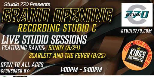 Grand Opening Studio C (1st Day)