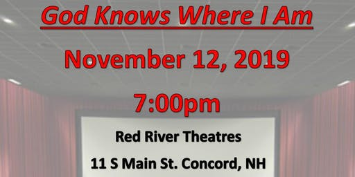 "Fellowship Housing Opportunities presents ""God Knows Where I Am"""