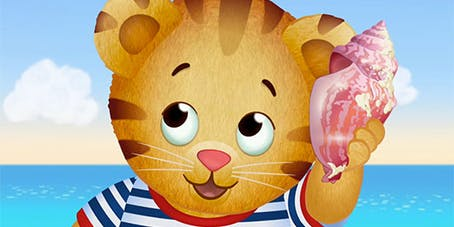 Daniel Tiger at Palmyra Cove!