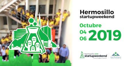 Startup Weekend Hermosillo Octubre 2019 entradas