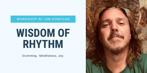 SOLD OUT - Harmony, PA: Wisdom of Rhythm Retreat with Jim Donovan
