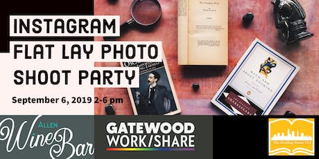Instagram Flat Lay Photo Shoot Party tickets