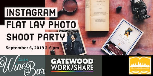 Instagram Flat Lay Photo Shoot Party