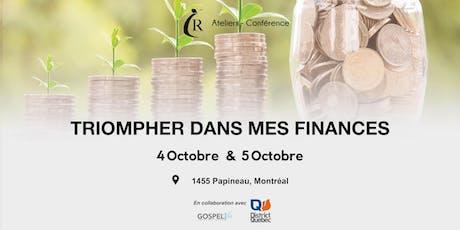 Conférence - Triompher dans mes finances billets