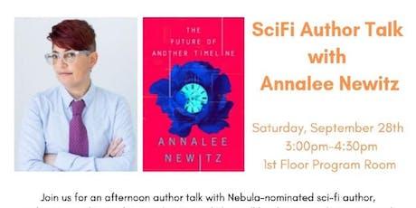 SciFi Author Talk with Annalee Newitz tickets