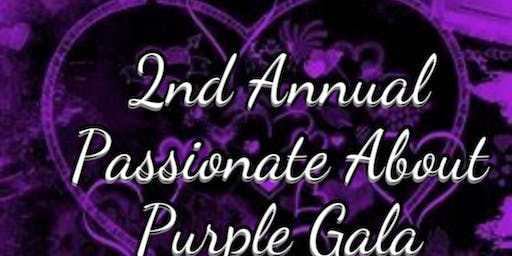 2ND ANNUAL PASSIONATE ABOUT PURPLE GALA