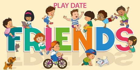 Friends themed Play Date tickets