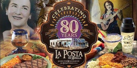 La Posta 80th Birthday Fiesta tickets