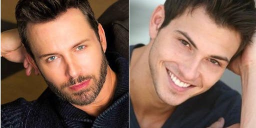 DAYS OF OUR LIVES ROBERT SCOTT WILSON & ERIC MARTSOLF IN MONTREAL