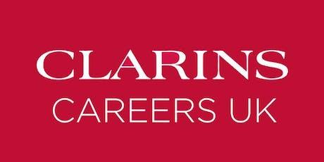 Clarins Recruitment Day tickets