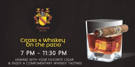 Whiskey & Cigar On The Patio tickets