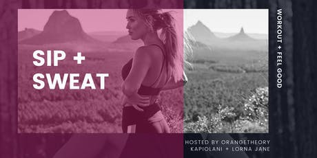 Sip + Sweat Event tickets