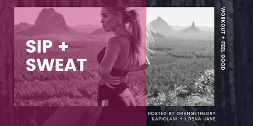 Sip + Sweat Event