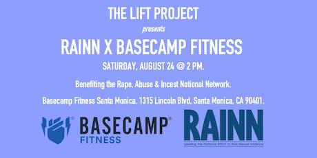 The Lift Project: RAINN x Basecamp Fitness tickets