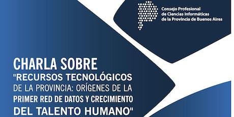 Recursos Tecnológicos de la Provincia de Buenos Aires entradas