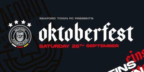Oktoberfest 2019 at Seaford Town Football Club tickets