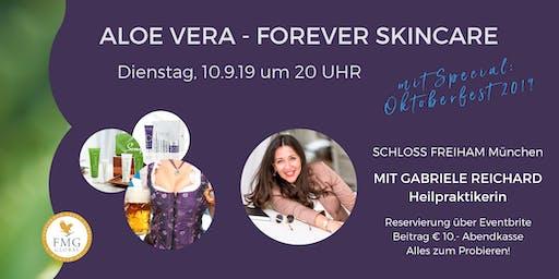 Aloe Vera - FOREVER SKINCARE (mit Heilpraktikerin & Autorin Gabriele Reichard)