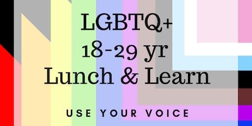 LGBTQ+ Lunch & Learn