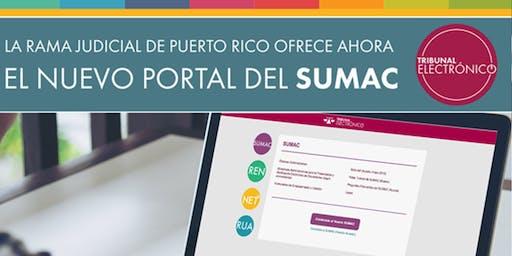 Sesión práctica sobre la nueva plataforma de SUMAC-Nivel Básico