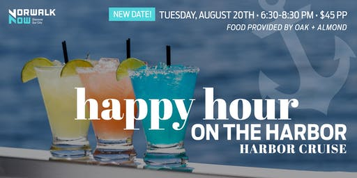 Happy Hour on the Harbor Cruise (August 20th)