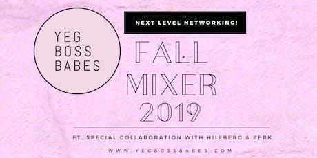 YEG BOSS BABES | FALL MIXER 2019 tickets