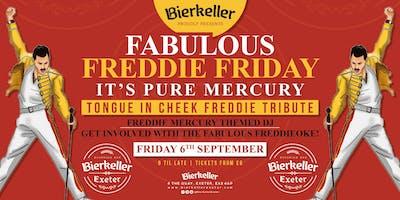 Fabulous Freddie Friday - Tongue in cheek tribute to Freddie Mercury