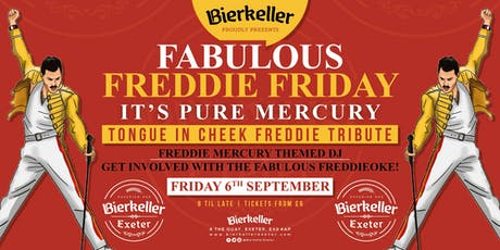 Fabulous Freddie Friday - Tongue in cheek tribute to Freddie Mercury  tickets