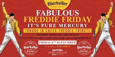 Fabulous Freddie Friday - Tongue in cheek tribute to Freddie Mercury  tickets