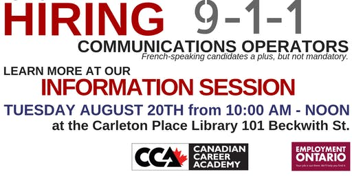 OPP Communications Operator Information Session
