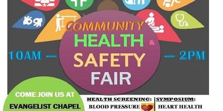 Community Health & Safety Fair tickets