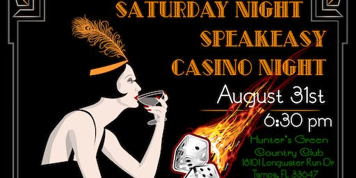 """A Step Back in Time"" Inaugural Speakeasy Casino Fundraiser"