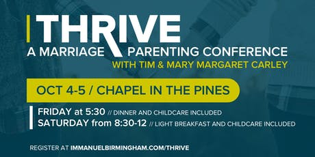 THRIVE: A Marriage & Parenting Conference tickets