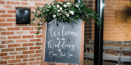 Wedding Workshop | Flowers, Decor and Unique Accents
