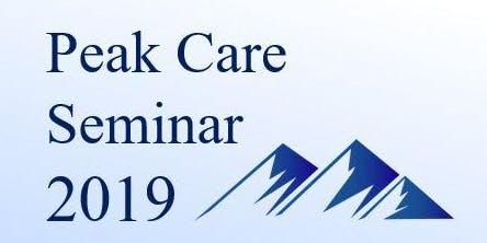 Peak Care Seminar 2019 - Making Local Health Care Work Better