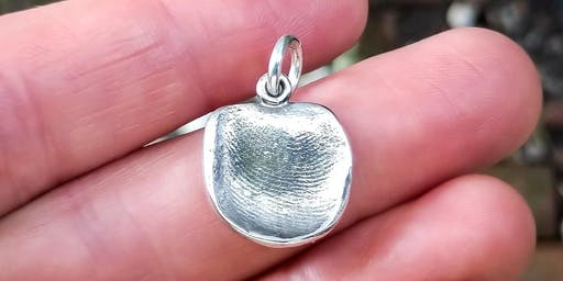 Jewelry Making: Precious Metal Clay Fingerprint Pendant