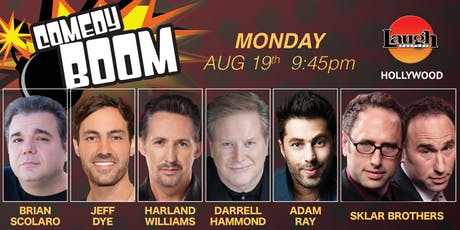 Darrell Hammond, Harland Williams and more -Comedy Boom! tickets