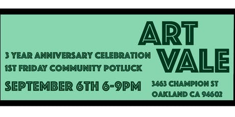 3 Years of ArtVale - Anniversary Party tickets