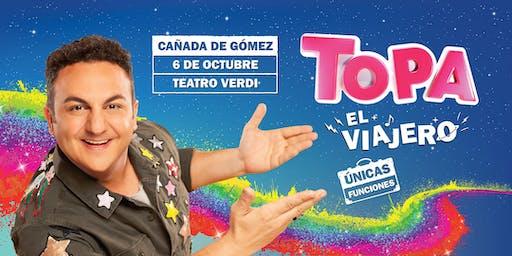 """TOPA """"EL VIAJERO"""" - CAÑADA DE GÓMEZ. Teatro Verdi"""