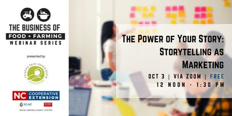 The Power  of Your Story: Storytelling as Marketing tickets