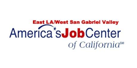 East Los Angeles/ West San Gabriel AJCC Quarterly Stakeholder Meeting  tickets