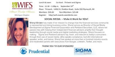 SOCIAL MEDIA - MAKE  IT  WORK FOR  YOU!