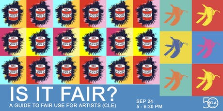 Is It Fair? A Guide to Fair Use for Artists (CLE) tickets