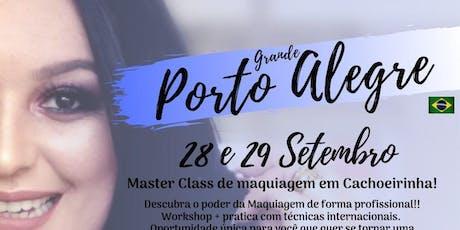 MASTER CLASS DE MAQUIAGEM - PORTO ALEGRE RS ingressos