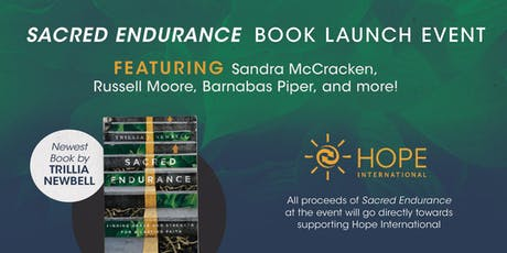 Sacred Endurance Book Launch tickets
