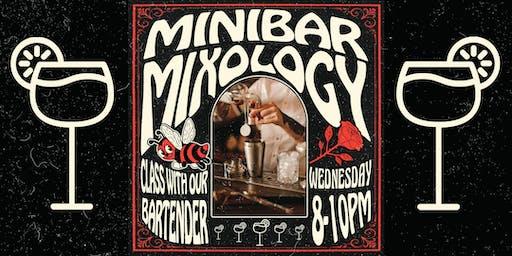 Minibar Mixology Class with David Cedeno