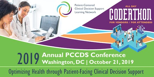 2019 Annual Patient-Centered Clinical Decision Support Learning Network Conference and Codeathon