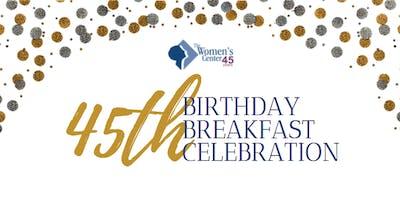 45th Birthday Breakfast Celebration