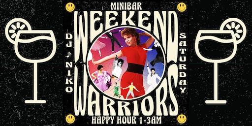 Weekend Warriors at Minibar