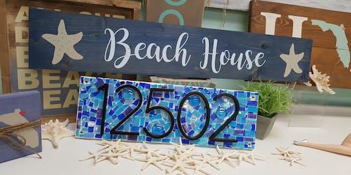 Mosaics at The Beach!