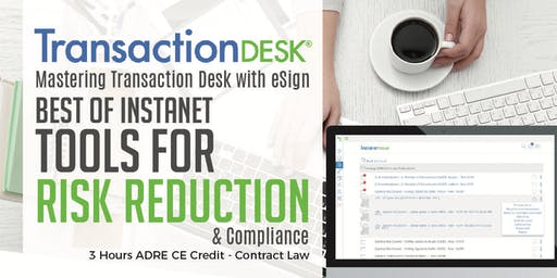 Mastering Transaction Desk with eSign